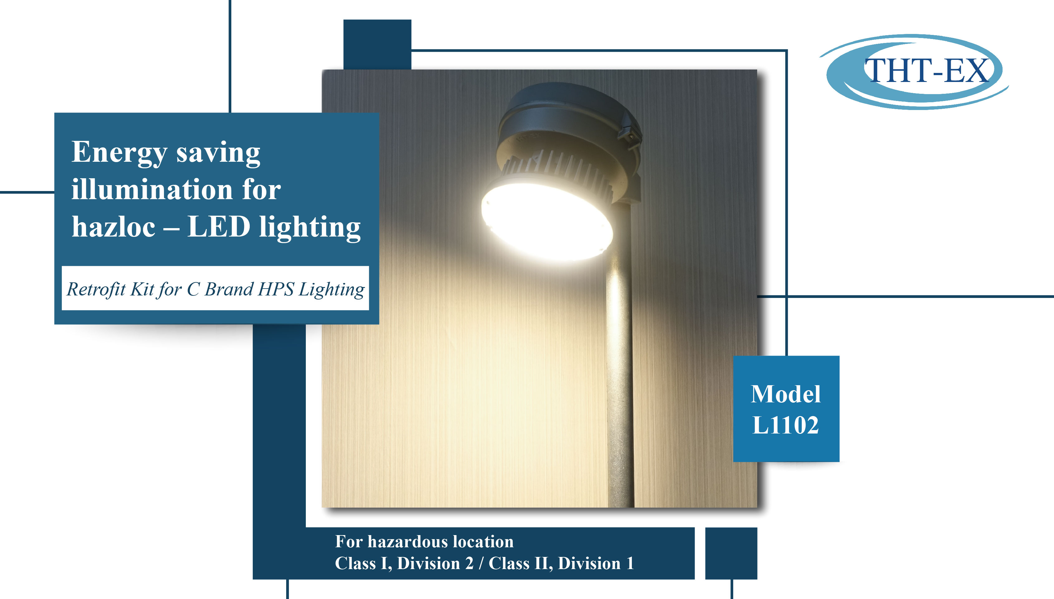 High temperature LED Lights. Quick, safe & energy saving replacement solution for 65-100℃ high temperature environment.