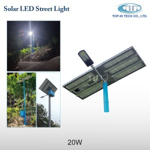 Solar LED Street Light 20W_THT-EX