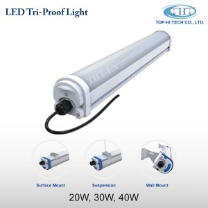 LED Tri-Proof Light 20W, 30W and 40W_THT-EX